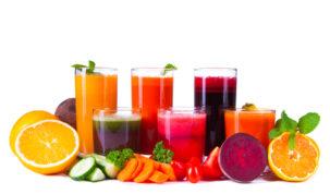 Ovocné a zeleninové džúsy