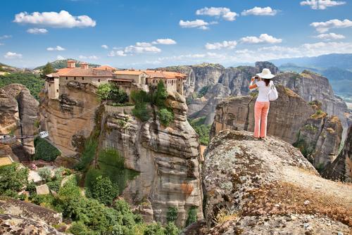 Meteora – skaly, monastery a pokoj