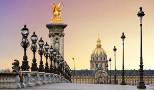 Nejkrásnější most v Paříži: Most Alexandra III.