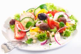Recept: Pripravte si grécky šalát
