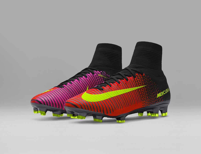 9389b74a4 Kopačky Nike Mercurial sú navrhnuté tak, aby pomohli hráčom udržať na  ihrisku maximálnu rýchlosť. Sú tak navrhnuté na báze systému rýchlosti a  pri návrhu ...