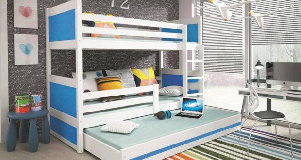 Máte málo miesta v detskej izbe? Siahnite po poschodovej posteli!